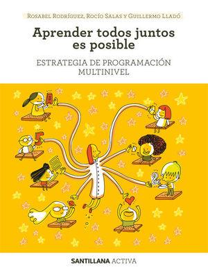 SANTILLANA ACTIVA ESTRATEGIA DE PROGRAMACION MULTINIVEL. APRENDER