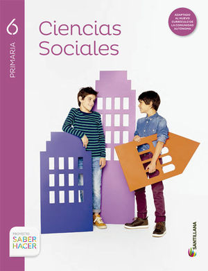 C.SOCIALES 6EP SANTILLANA SABER HACER