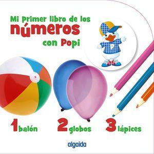 MI PRIMER LIBRO DE LOS NÚMEROS CON POPI