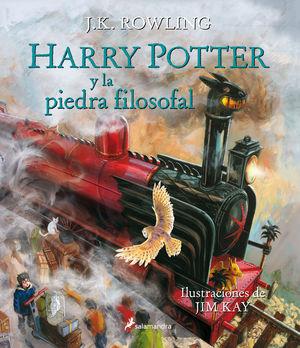 HARRY POTTER I PIEDRA FILOSOFAL ILUSTRADO