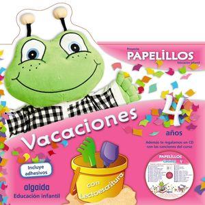 VACACIONES 4AÑOS PAPELILLOS ALGAIDA