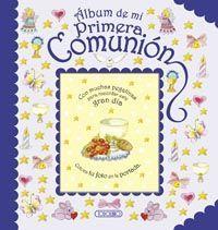 ALBUM DE MI PRIMERA COMUNION AZUL
