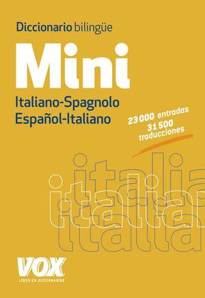 DICCIONARIO MINI ITALIANO-SPAGNOLO/ESPAÑOL-ITALIAN